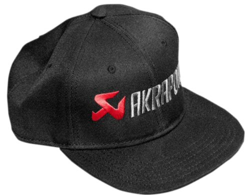 Flat Bill Akrapovic Logo Hat