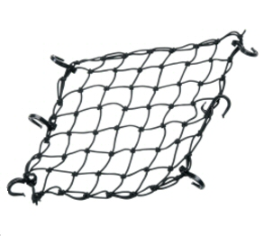 Adjustable Bungee Net, Black 15x15 Inches