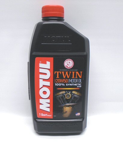 Motul V-Twin 20W50 Motor Oil  1 Quart (946mL)