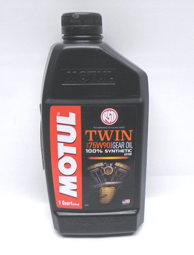 Motul Twin Gear Oil Gear Synth 75W-90 1 Qt