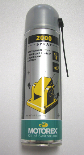 Motorex 2000 Synthetic Spray Grease 500mL