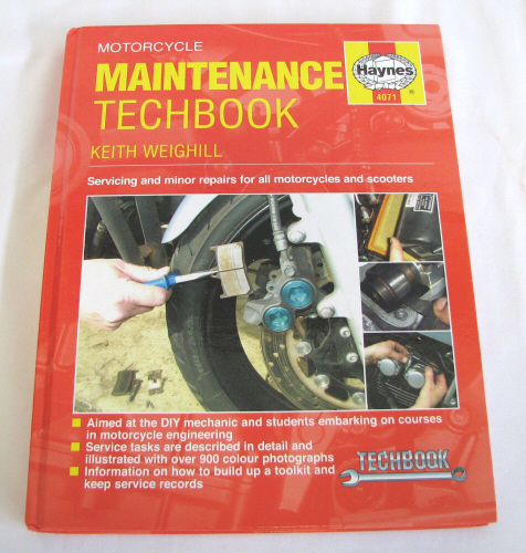 Haynes Motorcycle Maintenance Basics Manual