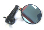 Rizoma Spy Arm Mirror, Black 94mm (3.75 inch)