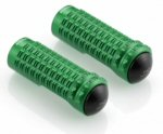 Rizoma B-Pro Anodized Alu Footpeg, Green -PAIR