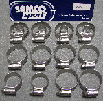 Samco Hose Clamps For V4 Thermostat Bypass Kit
