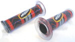 Harri's Road Clear Grips, Red/Black