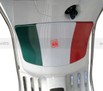 Glovebox Flag Decal for Vespa LX50, LX150