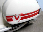 Vespa Side Panel Race Stripes