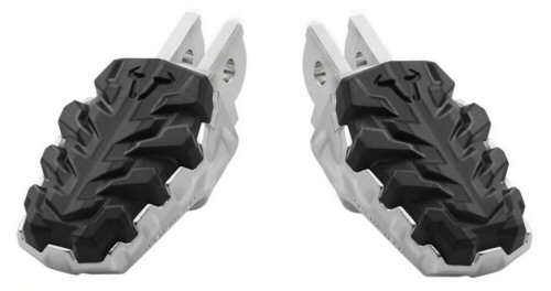 SW Motech Evo Rubber Padded Driver Pegs -PAIR