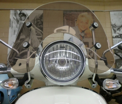 Prima Short Windscreen for Vespa Primavera -TINT