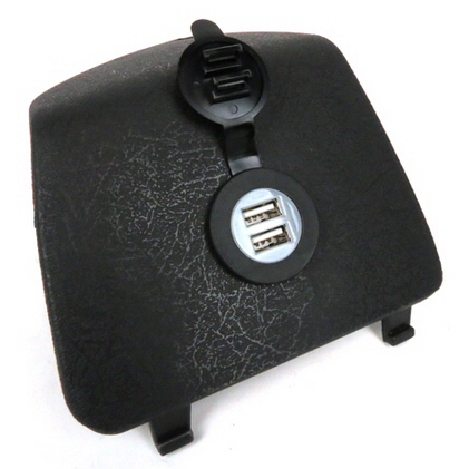 Plug and Play Dual USB Outlet for  GTS & GTV ABS