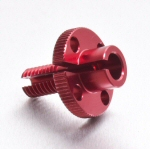 Pro Bolt Clutch Cable Adjuster, Red for V4's