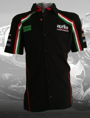 Aprilia GP Team Gear 2018: Pit Shirt -UPA608431M