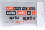 Aprilia Accessories 9 Sticker Sheet-UPASTICKER2016