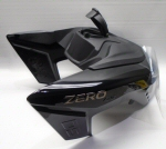 Zero MC's Charge Tank Assy, Black - ZM24-08269-13