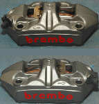 Brembo 100MM MonoBlock Caplier Set
