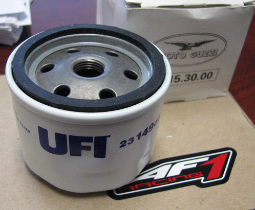 OEM Moto Guzzi Oil Filter 61MM -#GU14153000