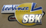 Leo Vince Stick-On Replacement Badge