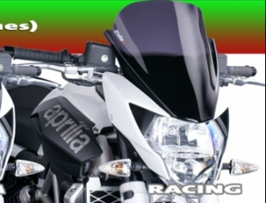 Puig Racing Black Windscreen For 2011-2016 Shiver
