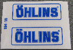 Ohlins Decal 2 Pack