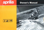 OEM Aprilia Owner's Manual - Dorso 900 GERMAN