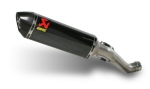 Akrapovic Carbon 300mm Can Slip-On System