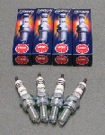 NGK Iridium Spark Plugs 4pk For V4