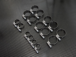 Stainless Steel Hose Clamp Kit  - 18 pieces