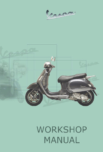 OEM Vespa Workshop Manual - Primavera 150 iGet