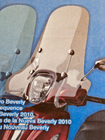 OEM Piaggio Windscreen Kit for Beverly 350