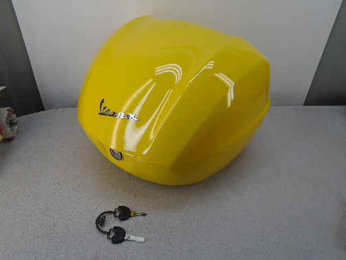 Used Top Box, Yellow, for Sprint/Prima