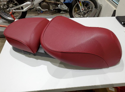 USED Vespa GTV 300 Red Saddle - 1B001051