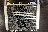 Used Radiator for Piaggio BV300, BV350 and BV500
