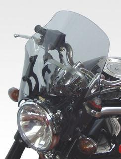 Agostini-Windscreen-For-Moto-Guzzi-Griso-CLEAR