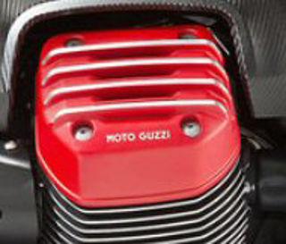 OEM-Moto-Guzzi-RH-Valve-Cover-Red-2B0028395