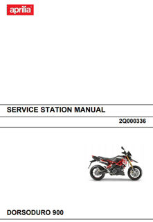 Af1 Racing Oem Aprilia Service Station Manual Dorsoduro 900