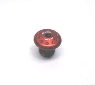 CNC-Racing-Mirror-Thread-Hole-Cover-Red