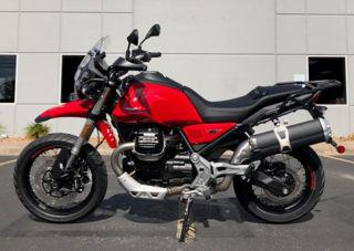 OEM-Moto-Guzzi-Red-Plastics-Kit-for-V85-TT