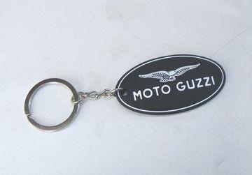 Ảnh của Moto Guzzi Keychain Rubber Oval - 55mm -AMPCOGM
