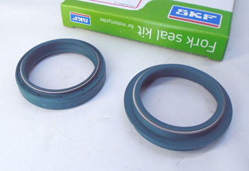 Ảnh của SKF Fork Seal Kit, Green for Showa Forks - IN-KITG-43S (one oil seal, one dust seal)