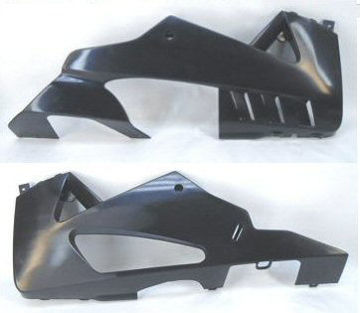 Εικόνα της Unpainted 2016 Lower Fairing Kit For Tuono V4