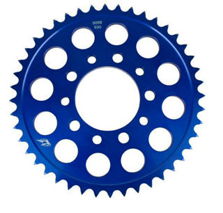 Picture of Driven Racing 520 Aluminum Rear Sprocket - Blue