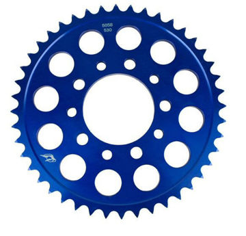 Imagem de Driven Racing 520 Aluminum Rear Sprocket - Blue