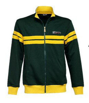 Picture of Vespa Accessories: Racing Sixties Fleece, Green - 607508M0xG