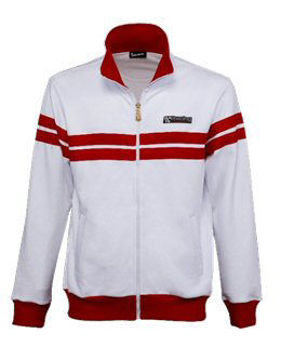 Picture of Vespa Accessories: Racing Sixties Fleece, White - 607508M0xW