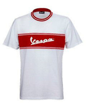 Vespa Accessories: Racing Sixties T-Shirt, White 607507M0xW の画像