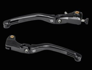 Picture of Bonamici Magnesium Brake and Clutch Lever Set, Black For V4's