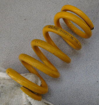 Picture of Used Ohlins Rear Shock Spring in 1.05 kg.mm