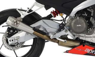 Picture of Arrow Competition Evo Racing Titanium Full System Exhaust [Open Exit Version] (No Cat) -  GI-71215CP