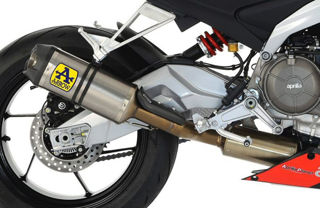 Picture of Arrow Competition Titanium Full System Exhaust (No Cat) -  GI-71215CKZ